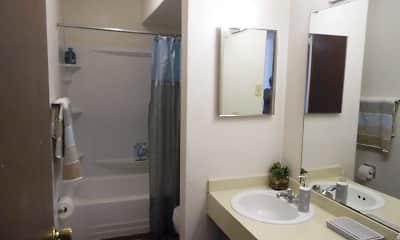 Bathroom, Evergreen Manor, 2