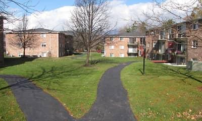 Building, Village Center Apartments, 2