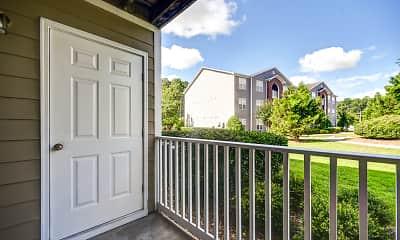 Patio / Deck, Bentley Ridge Apartments, 2