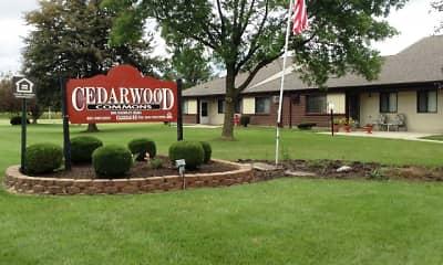 Community Signage, Cedarwood Commons, 2