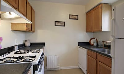 Kitchen, Meadow Green Courts, 1