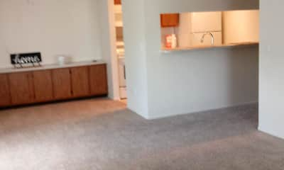 Living Room, Sand Pebble Apartments, 1