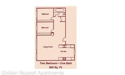 Golden Nugget Apartments, 2