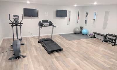 Fitness Weight Room, Wyndsor Terrace Apartments, 2