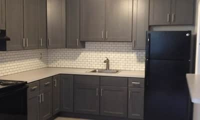 Kitchen, Oxford Heights Apartments, 2