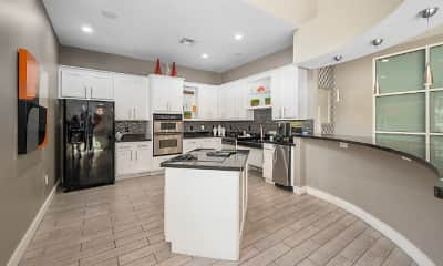 Kitchen, Galleria Parc Apartments, 2