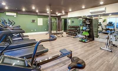 Fitness Weight Room, Nanda on Pacific, 2