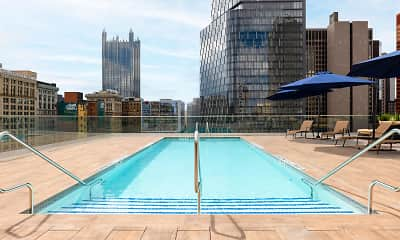 Pool, Kaufmann's Grand on Fifth Avenue, 1