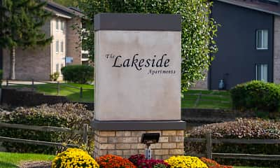 Community Signage, Lakeside Apartments, 2