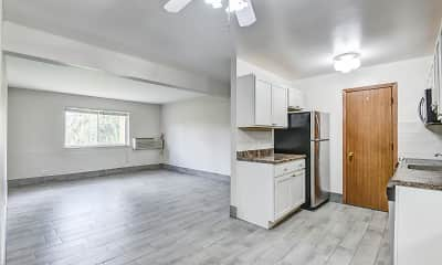 Kitchen, Wauconda Park Apartments, 1