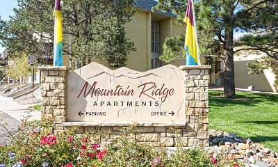 Community Signage, Mountain Ridge Apartment Homes, 2