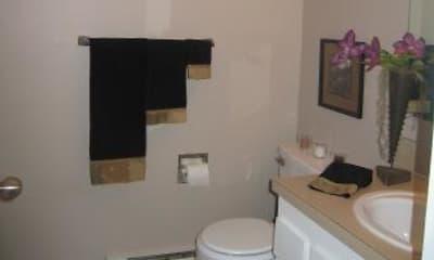 Bathroom, Stafford Court Apartments, 1