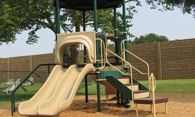 Playground, Delbrook Manor Apartments, 2
