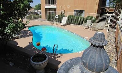 Pool, The Palazzo At Sandia Heights, 1