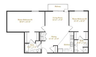 floor plan, Terrace Hill, 2
