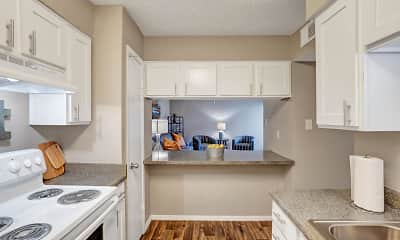 Kitchen, Alpine Creek Apartments, 0