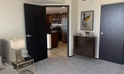 Living Room, Galaxie High Rise Apartments, 2