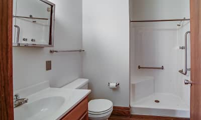 Bathroom, Great Northern Apartments, 2