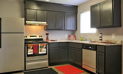 Kitchen, Vineville Townhomes, 0