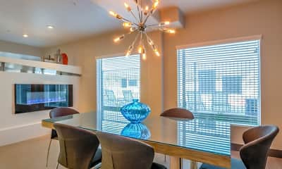 Dining Room, Boulevard Apartments, 2