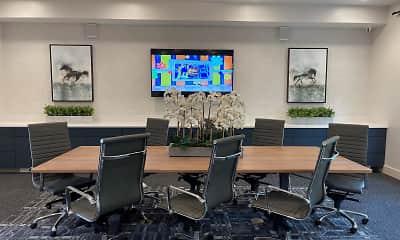 Dining Room, Grande Oaks Parc Apartments, 2