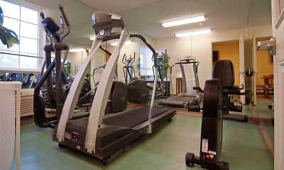 Fitness Weight Room, Furnished Studio - Wilkes-Barre - Hwy. 315, 2