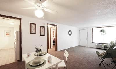 Dining Room, Heatherwood Apartments, 1