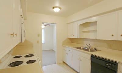 Kitchen, Heritage Apartments, 1