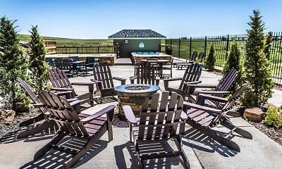 Patio / Deck, The Pointe At WYO, 2