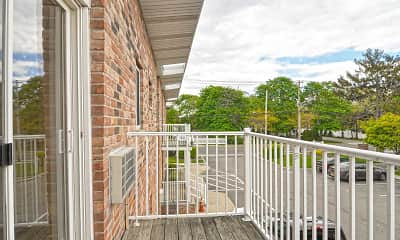 Patio / Deck, Fairfield Creekside At Patchogue Village, 2