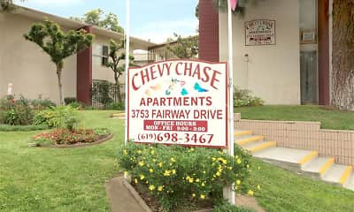 Community Signage, Chevy Chase Apartments, 0