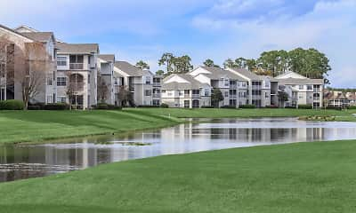 water view featuring an expansive lawn, Registry At Windsor Parke, 1