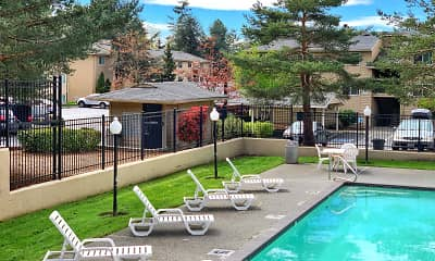 Pool, Sandpiper Apartments, 1
