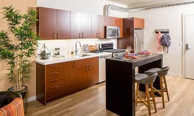 Kitchen, Modera Pearl, 1