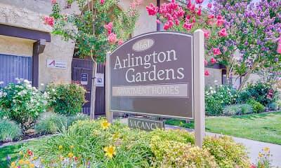 Community Signage, Arlington Gardens, 2