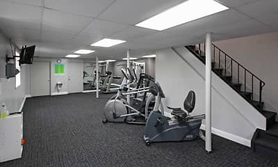 Fitness Weight Room, Springrove, 2