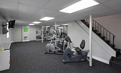 Fitness Weight Room, Springrove, 2