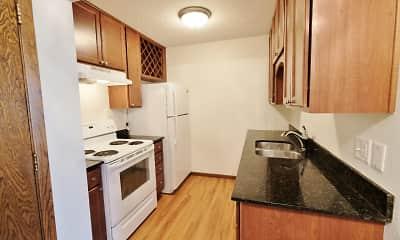 Kitchen, Minnehaha Apartments I & II, 1