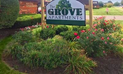 Community Signage, The Grove Apartments, 2