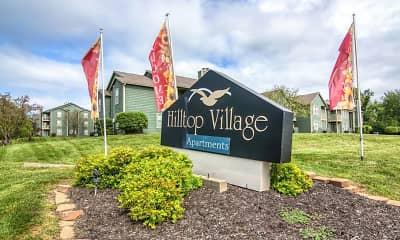 Community Signage, Hilltop Village, 2
