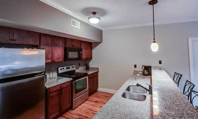 Kitchen, Hayden Place Apartments, 1