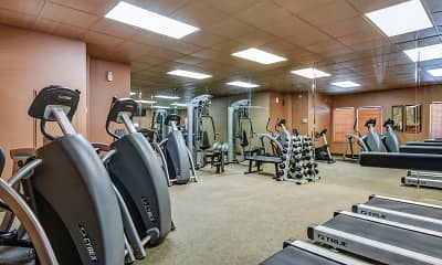 Fitness Weight Room, The Boulders, 2