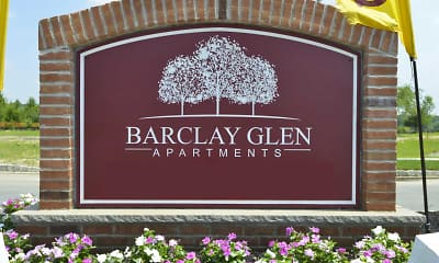 Community Signage, Barclay Glen Apartments, 1