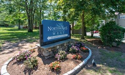 Community Signage, Northwoods, 2