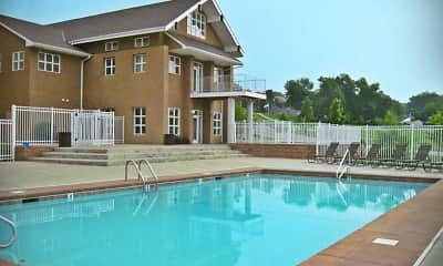 Pool, Meadowbrook Apartments and Townhomes, 1