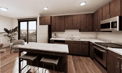Kitchen, Liffey on Snelling, 1