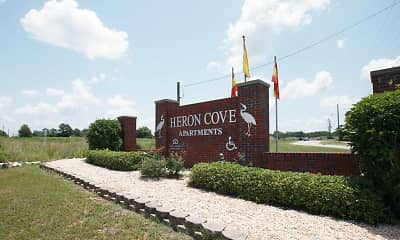 Community Signage, Heron Cove I Apartment Homes, 2