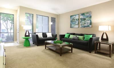 Living Room, Woodlake On The Bayou, 0