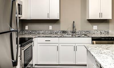 Kitchen, Liv 156 Apartments, 1