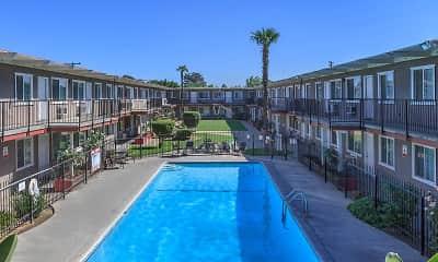 Pool, Osito Apartments, 0